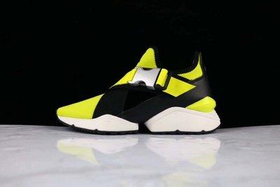 ☆LION販殼☆PUMA Muse Cut-Out 健身 跑步鞋 夏季 黑黃 慢跑鞋