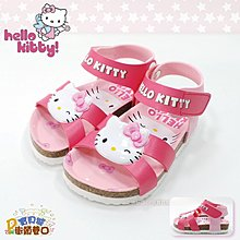hello kitty 凱蒂貓 童鞋 勃肯涼鞋 【街頭巷口】小P孩寶貝城 KT819209-P
