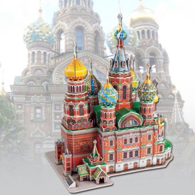 3D立體拼圖 @聖彼得堡救世主大教堂