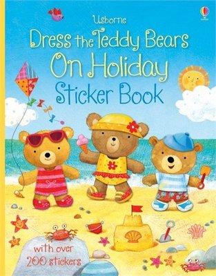 *小P書樂園* 英國【UsBorne】泰迪熊渡假穿衣貼紙書Dress Teddy Bear on Holiday