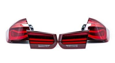 【樂駒】BMW 原廠 F30 F80 M3 CS Black Line 燻黑 尾燈組 電子 改裝 套件