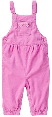 *DORA BABY*Gymboree全新正貨6-12M女寶寶法蘭絨連身吊帶褲 (粉紅色) ~【現貨】