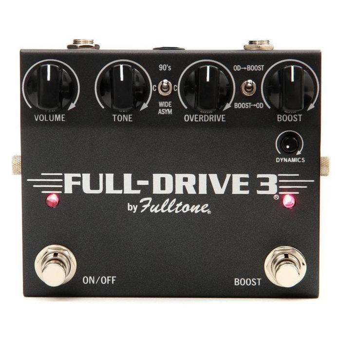 ☆唐尼樂器︵☆公司貨免運 Fulltone Full-Drive 3 美國製造 全手工 電吉他 單顆 破音 效果器