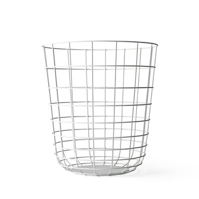 Luxury Life【正品】丹麥 Menu Wire Bin 金屬織網 雜誌桶 / 收納桶