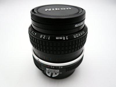 *定焦.手動* Nikon 28mm F2.8 - Ai版