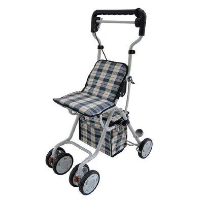 輕便型休閒散步購物車 (4色可選) TC-7092A