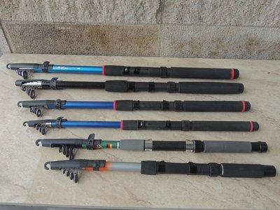 廠拍出清. 海磯池釣竿 振出式萬用竿 備用竿 240cm.  8尺. 入門級超值價 台中市