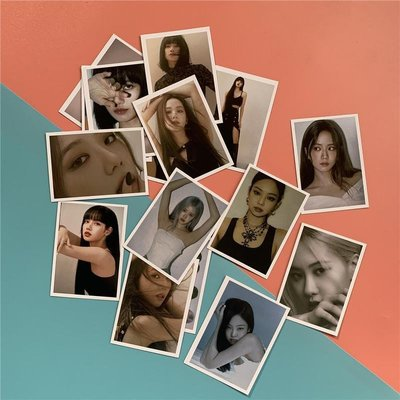 粉墨Lovesick Girls小卡 BLINKPINK自制LOMO卡THE ALBUM隨機卡