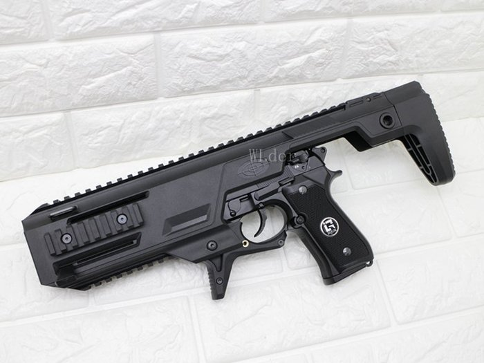 [01] iGUN 貝瑞塔 M9A1 手槍 瓦斯槍 連發版 + 衝鋒套件 (GBB衝鋒槍BB槍M92M9玩具槍空氣槍