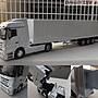 【原廠精品】1/ 50 賓士 Benz 集裝箱(白) 二...