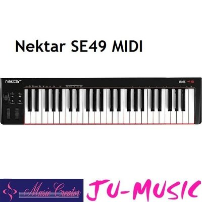 造韻樂器音響- JU-MUSIC - Nektar SE49 MIDI 49鍵 主控鍵盤 MIDI鍵盤 公司貨免運費