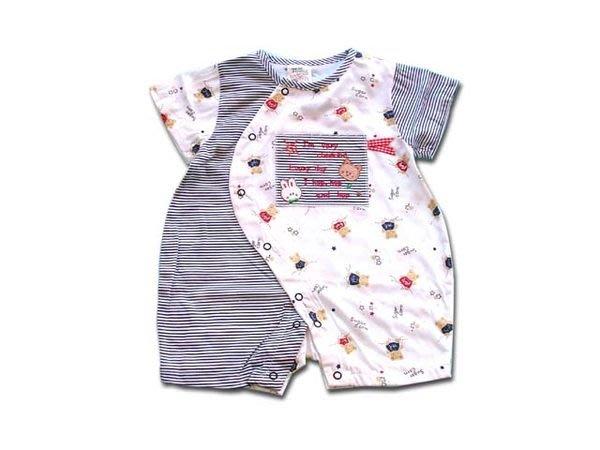 可愛寶貝---◎◎全新短袖斜扣兔子裝◎◎☆☆人氣商品☆☆