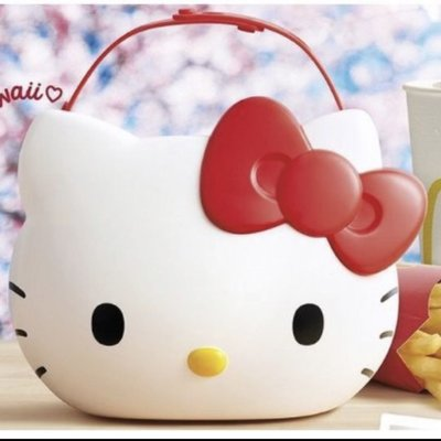 現貨麥當勞  Hello Kitty 置物籃
