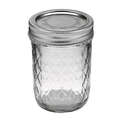 Ball mason  half pint jars 8oz 240ML【小妹賣萌】 梅森瓶 菱格 收納罐 料理儲物罐