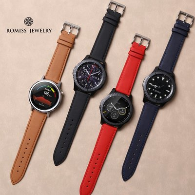 博能Polar Grit X  錶帶 義大利牛皮 頭層牛皮 替換腕帶 22MM接頭 智能手錶帶