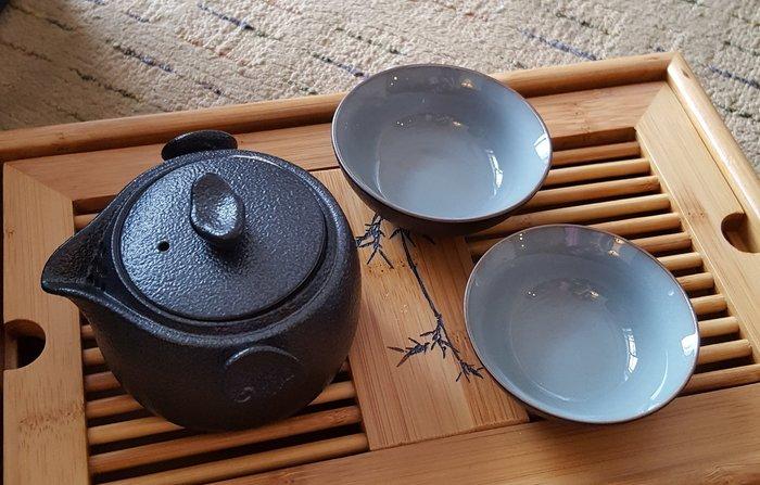 茶具 (蛋型三件組)