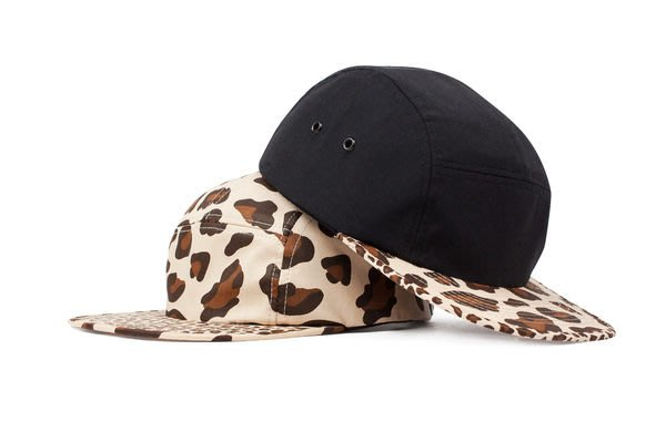 { POISON } LESS SLIDE LOGO CAMP CAP Leopard 豹紋 五片帽 原1280