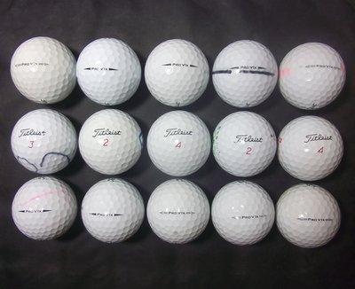 **新威全高爾夫**~特級9~9.99成新(Titleist Pro V1x)四層球(共15顆)全原廠球