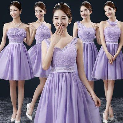 天使佳人婚紗禮服量身定做~~~~~~4色5款式 伴娘小禮服