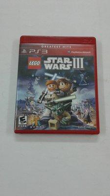 PlayStation 3 PS3遊戲 樂高 星球大戰III LEGO Star Wars III The Clone Wars 英文版 90%新 冇說明書