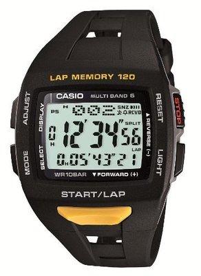 日本正版 CASIO 卡西歐 PHYS STW-1000-1JF 電波錶 男錶 太陽能充電 日本代購