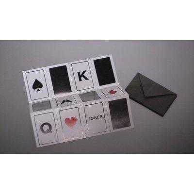 Paper Fold Prediction by Sean Yang 雙重預言紙 摺紙預言 預言魔術 剪紙預言 紙牌魔術