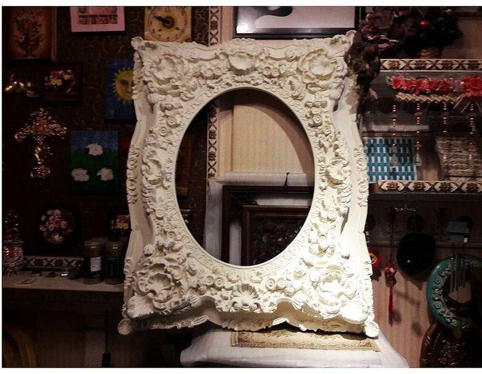 文藝復興 維多利亞 巴洛克 歐洲宮廷藝術-鏡框畫框相框像框-裱 鏡面 油畫 相片 婚紗照.MF-11101