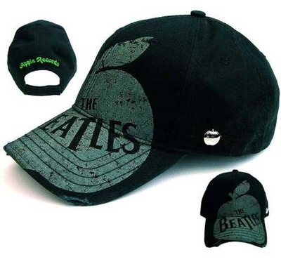 懷舊 棒球帽 The Beatles – VINTAGE APPLE RECORDS BASEBALL CAP