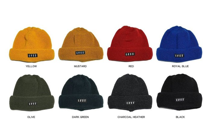 { POISON } LEUCHTFEUER x LESS ALASKA BOX BEANIE 德國製 雙反摺羊毛毛帽