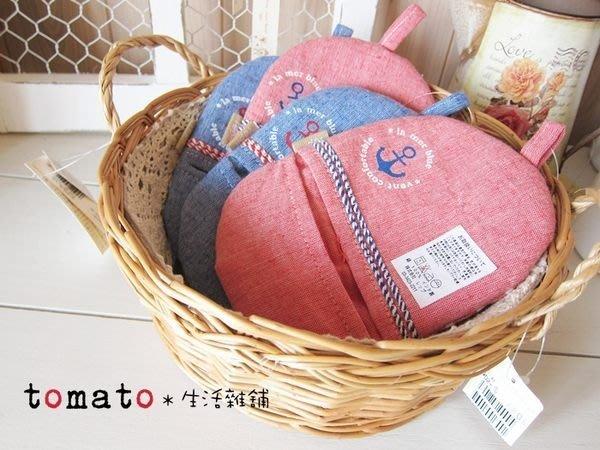 ˙TOMATO生活雜鋪˙日本進口雜貨藤編織蕾絲布圓形雙手把收納放置籃