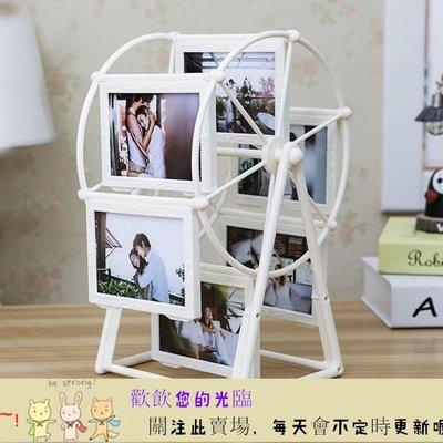 TW-11251655 相框創意DIY手工訂製照片風車旋轉相框擺臺相冊結婚紀念韓式浪漫擺件 首爾·站