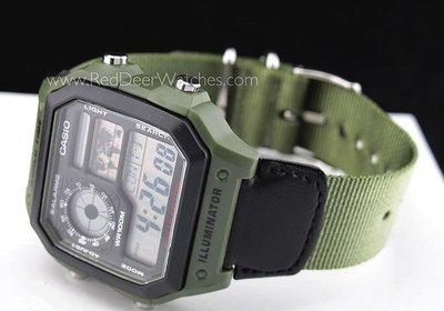 ?夢幻精品屋? 原廠CASIO公司貨~世界時間電子錶  AE-1200WHB-3B