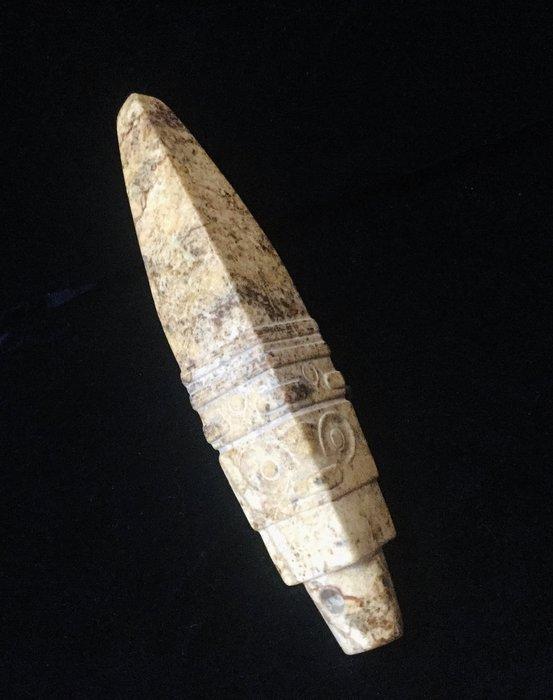 【錦福齋】良渚文化 良渚錐形器。 紅山文化/良渚文化