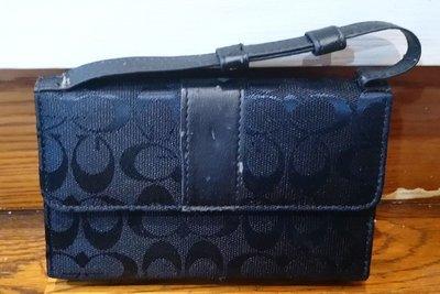 黑色 女性皮夾  防刮防水短款錢夾 商務皮夾 名片夾 女士錢包 多卡位皮包