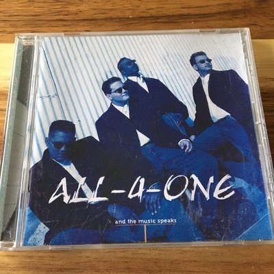 [BOX 4] All-4-One And The Music Speaks