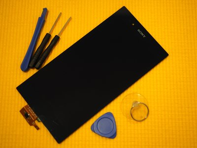 免運費【新生 手機快修】SONY Z Ultra ZU 原廠液晶螢幕總成 觸控玻璃破裂 XL39h C6802 現場維修