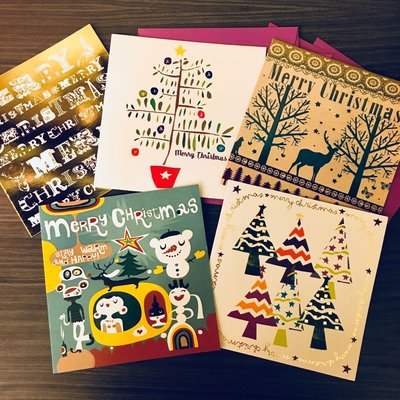 英國 Paperchase Christmas Card