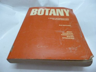 買滿500免運 / 崇倫《Botany: A Brief Introduction to Plant Biology》