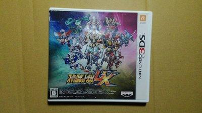 3DS 超級機器人大戰 UX 純日版 (3DS台灣中文機不能玩) 二手品