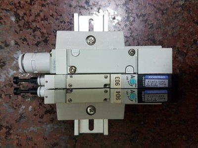 Koganei Block Pneumatic F10M2NJ*1, F10T1-CPS*2