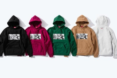 xsPC Supreme Mike Kelley 18FW Reconstructed History Hooded 重建歷史