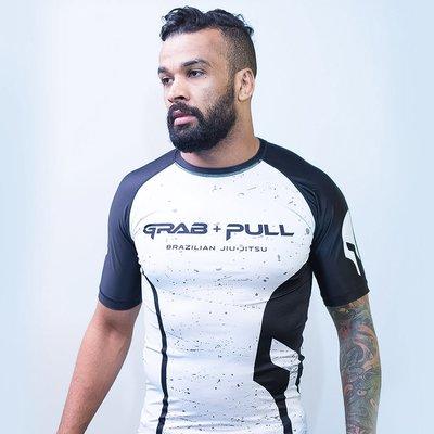 【神拳阿凱】Grab & Pull 經典款 短袖防磨衣 緊身衣 Rush guard