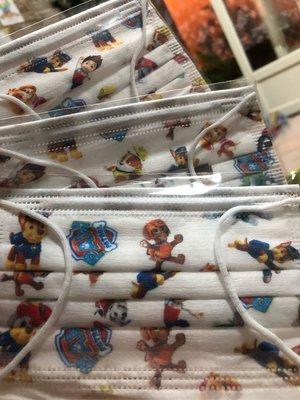 台灣現貨 特殊收藏兒童平面口罩 旺旺隊8片裝 (內含8片 旺旺隊)