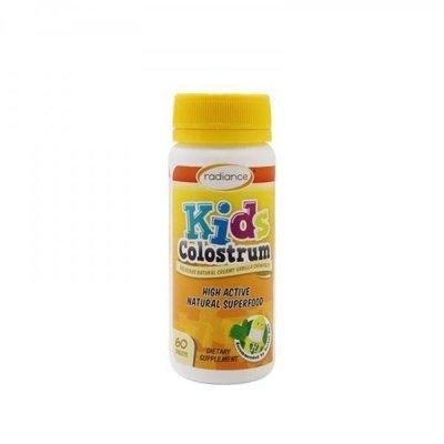 卡西法澳紐代購 Radiance 兒童牛初乳咀嚼錠 60片裝 - 不與競標商品合併運費