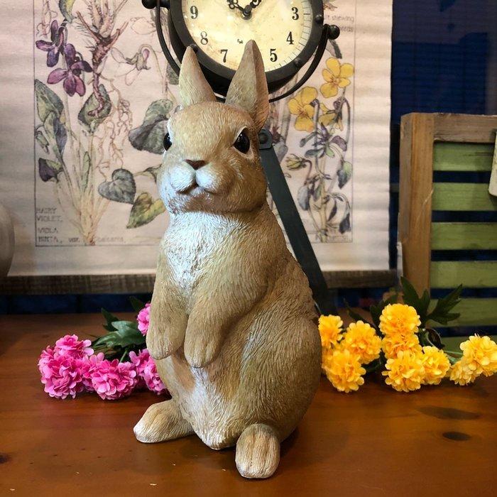《齊洛瓦鄉村風雜貨》日本zakka雜貨兔子擺飾 兔兔裝飾 小黃兔擺飾 居家裝飾 園藝裝飾 店家佈置