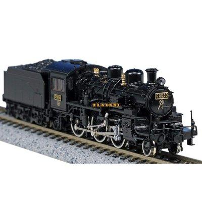 【PLAINNI】 N規 KATO 2027 C50形蒸氣機關車 (50周年記念製品)(全新盒裝) 蒸氣火車 火車頭 蒸汽車頭 鉄道模型