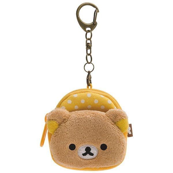 ^燕子部屋 ^ 正版San-X 【拉拉熊 /懶熊】背包零錢包吊飾