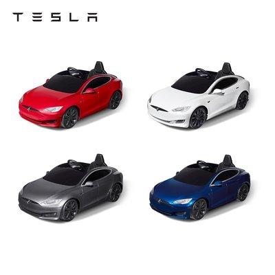 Tesla/特斯拉電動車兒童可坐人小孩四輪兒童玩具汽車Model S兒童遙控玩具