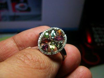 **結緣水晶**超優質,清透漂亮,天然碧璽戒指,款式都不一樣,喜歡的參考看看,全館特賣免運費唷(14)