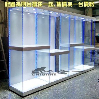 高低階梯展示櫃 全一 玻璃展示櫃 展示櫃 公仔櫃.玻璃展示櫃.布袋戲展示櫃.樂高櫃.鋼彈玻璃櫃.蜘蛛人公仔櫃.大型模型櫃